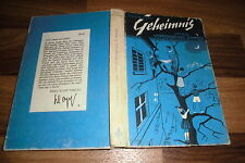 Enid Blyton -- GEHEIMNIS # 3 um ein VERBORGENES ZIMMER // Erika Klopp 1963