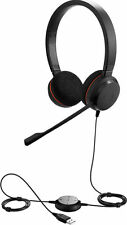 jabra EVOLVE 20 Cuffia Biauricolare USB, Audio HiFi Headset