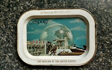 Vintage 1967 MONTREAL CANADA EXPO 67 Rare pavilion United States US worlds fair