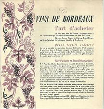 les vins de Bordeaux l'art d'acheter 1955 wine eonologie vin vigne