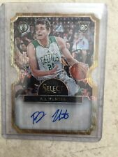 #9/10 (ONLY 10) 2015-16 SELECT GOLD REFRACTOR AUTO AUTOGRAPH R.J. HUNTER RC