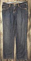 Elie Tahari Jeans Pants Womens Sz 10 Embellished 100.30.77