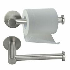 Home Stainless Steel Wall Mounted Toilet Paper Holder Rack Tissue Roll Stand US
