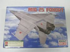 Minicraft 1:144th Scale U.S.S.R/Libya MIG 25 FOXBAT 14654