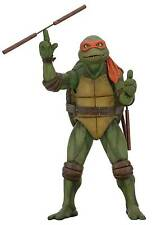NECA TMNT Ninja Turtles MICHELANGELO Mikey Action figure 1/4 Scale PRE-ORDER