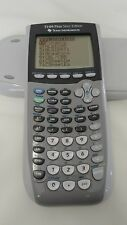 Texas Instruments TI-84 Plus Silver Edition Graphing Calculator  :)