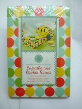 Martha Stewart Collection 2009 Polka Dots Cupcake Cookie Boxes 6ct Food Gifts