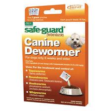 Dog Puppy Animal Wormer FENBENDAZOLE Broad Spectrum Pet Dewormer Safeguard 10lb
