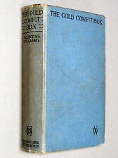 The GOLD COMFIT BOX - Valentine Williams (1932) Dr. Grundt / Clubfoot Mystery of