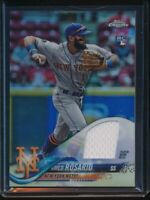 2018 Topps Chrome Factory Set Amed Rosario Refractor Jersey Relic RC WSE-3 NYM