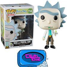 Funko Pop! Rick & Morty: Rick With Portal Gun Hot Topic Exclusive No Sticker