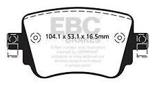 DP42201R EBC Yellowstuff REAR Brake Pads fit SEAT SKODA Leon (5F) Octavia (5E)
