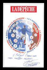 Just Fontaine Autogrammkarte Frankreich WM 1958 Original Signiert+G 15773