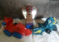MOTU HE-Man- Lot of 3 Vintage Masters Of The Universe Vehicles