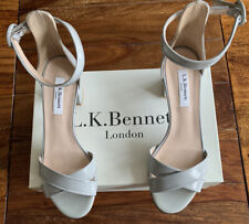 LK Bennett Leather Sandals Aniki Mist UK 4.5 37.5 BNWT RRP £185