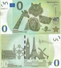 Biljet billet zero 0 Euro Memo - Zoo de Jurques (047)