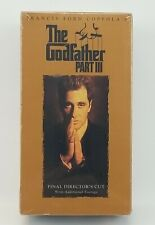 The Godfather Part Iii Final Directors Cut factory sealed Digitally Mastered Thx