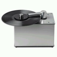 Pro-Ject VC-E Compact Record Cleaning Machine - Vinyl Cleaner Aluminium
