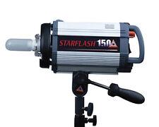 Photoflex StarFlash 150w/s Studio Flash New Built in slave w/ reflector & cables