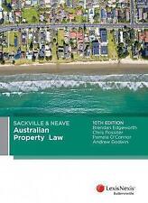 Sackville & Neave Australian Property Law by P. O'Connor, a . Godwin, C...