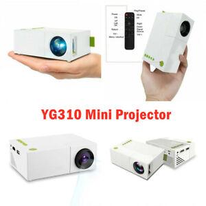 YG310 Mini LCD Projector USB AV TF HDMI 600 Lumens 1080P HD LED Home Theater