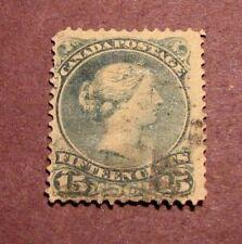 Canada Scott# 30 Queen Victoria 1868-75  C31