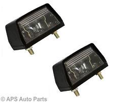 x2 Universal Number Plate Light Car Tractor Jeep Van Trailers Caravans Lamp 12V