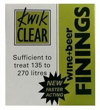KWIK CLEAR Wine and Beer Finings - Up To 270 Litres - Ritchies Home Brew