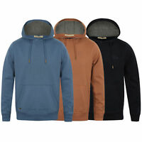 Mens Sweatshirt Tokyo Laundry Over The Head Hooded Top Casual Fleece Lined New