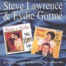 We Got Us/Steve & Eydie Sing the Golden Hits by Steve Lawrence & Eydie Gorme (CD, Aug-1996, Jasmine Records)