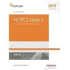 OPTUM HCPCS 2013 Level II Professional Billing Codes ICD-9-CM ICD-10-CM