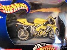 DUCATI yellow 996  SPORT BIKE motorcycle DIE CAST NEW
