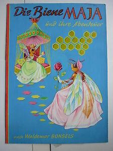 """Originalzeichnung """"Die BIENE MAJA und ihre Abenteuer"""" Titelbild Pestalozzi 1960"""