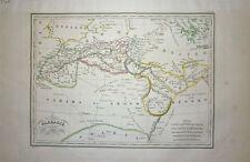 1834 Genuine Antique map of Northern Africa. Malte-Brun