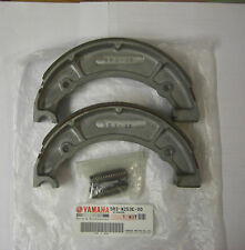 YAMAHA YDS7 YR5 RD250ABC RD350AB XS650 GENUINE  REAR BRAKE SHOES WITH SPRINGS