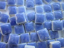 100pcs - 110grams Micro Ceramic Mosaic Tiles Sky Blue BC4