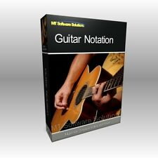 Guitar Music Notation Write Writing Compose Pro Professional Software