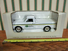 John Deere 1967 Chevy Pickup Bank By SpecCast 1/25th Scale