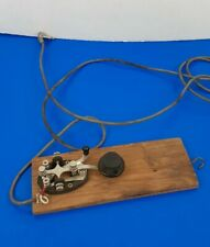 Vintage * Antique *Telegraph Key - Speedy-x * Morse Code *