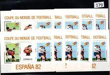 /// 10X ZAIRE 1982 - MNH - SOCCER - SPAIN