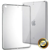 For Apple iPad 9.7 2017 | Clear Hybrid Slim Shockproof Soft TPU Bumper Cover