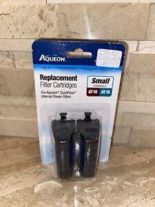 Aqueon QuietFlow Filter Cartridge Replacement For  AT10 AT15 Tank Aquarium NEW