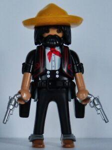 Playmobil western - cowboy - bandit - desperado - mexicain #547 - custom