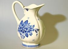 Blumenvase Kanne Delfts Blauw Distel Vase 50er Jahre Niederlande Holland