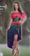 Gypsy Costume Womens Size S 4 6 Bohemian Dream Small 2 Pcs Halloween Cosplay
