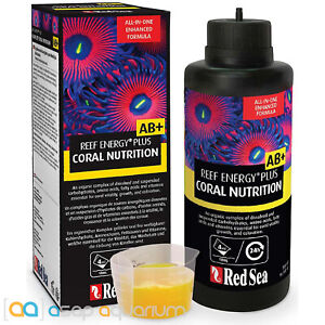 Red Sea Reef Energy Plus AB+ Coral Nutrition 250mL Coral Super Food All In One