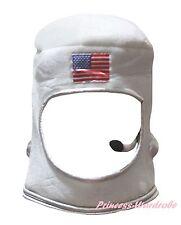 Halloween USA Astronaut Space Cosplay Kid School Party Costume Warm Hat Headgear