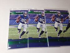 2016 Panini Plates & Patches Green Victor Cruz #70 NY Giants SSP #9, 11 & 22/25