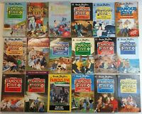 Enid Blyton THE FAMOUS FIVE Bundle of 20 Books Vintage Editions (Near Complete)