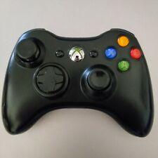 Microsoft Xbox 360 Controller/Joystick/Joypad Wireless Nero Ufficiale + 2 PILE